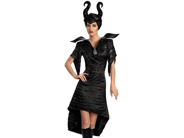 Sexy Maleficent Christening Short Gown Deluxe Halloween Costume