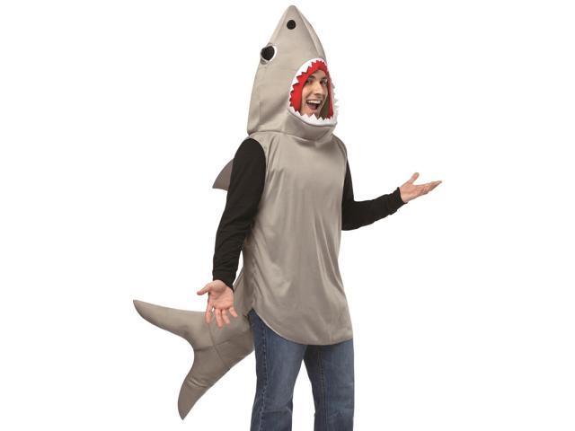 Funny Adult Sand Shark Jaws Halloween Costume