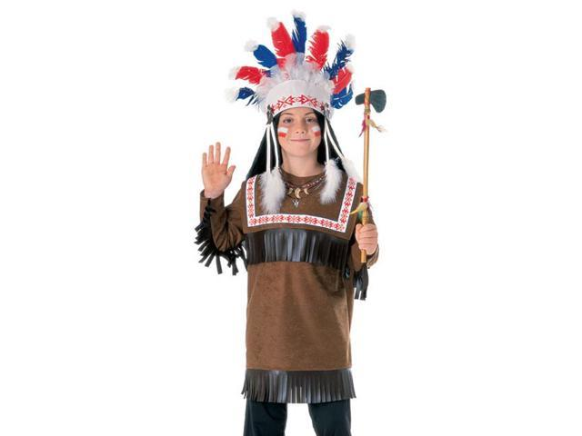 Children Costume Boys NEW Chief Warrior Indian Outfit