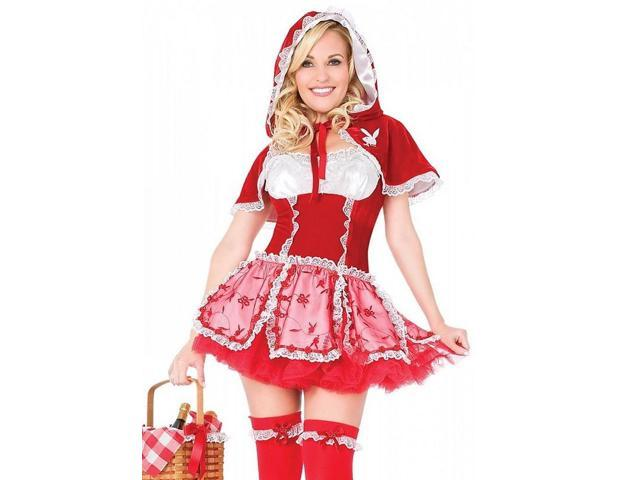 Sexy Playboy Halloween Costume Little Red Riding Hood