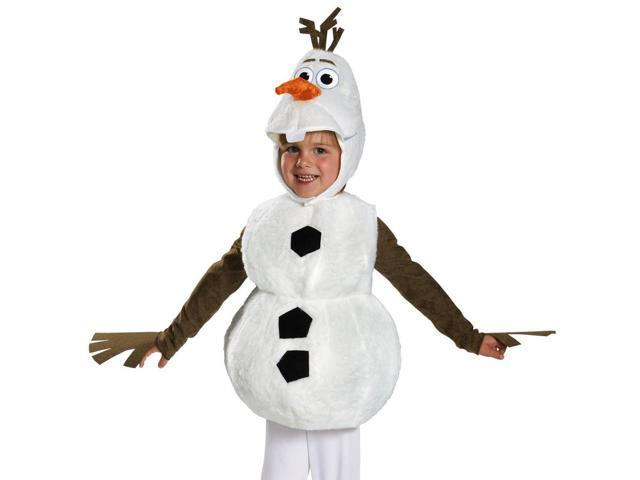 Kids Olaf Frozen Snowman Deluxe Toddler Halloween Costume