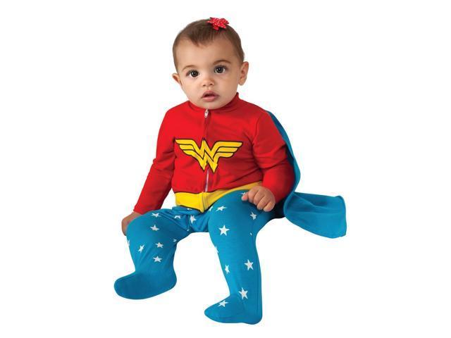 Newborn Infant Baby Wonder Woman Halloween Costume