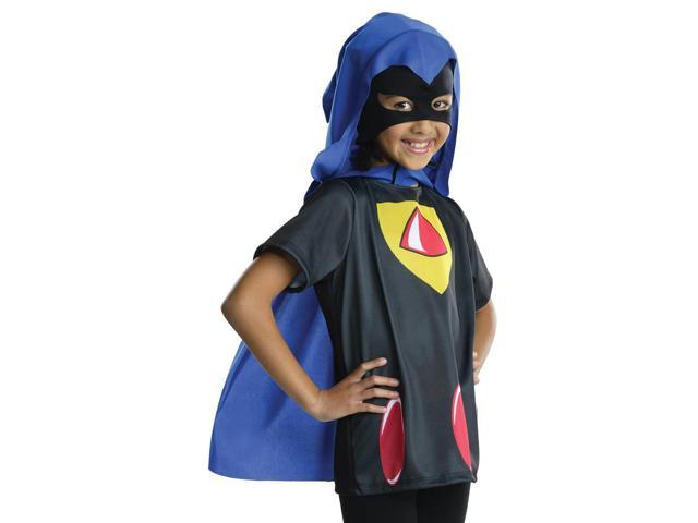 Kids Girls Teen Titans Raven Halloween Costume Shirt