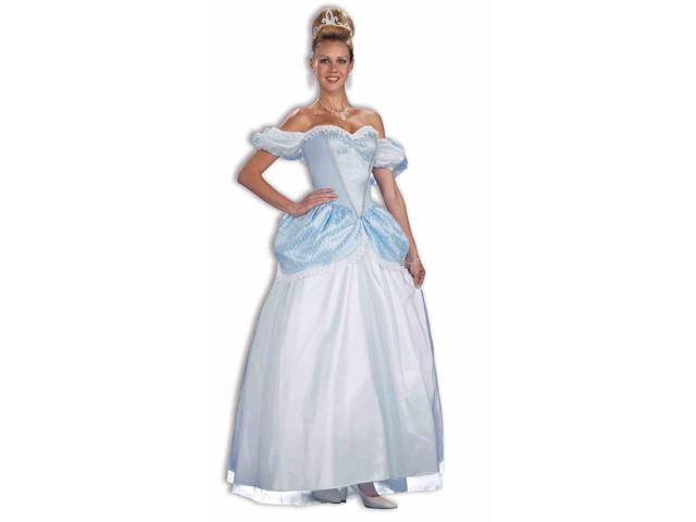 Princess Cinderella Halloween Costume Ball Gown Dress