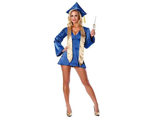 Sexy College Schoolgirl Graduate Halloween Costume
