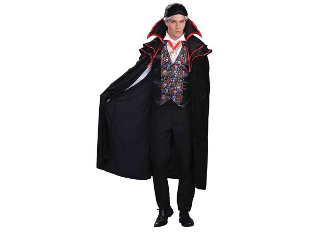 Count Dracula Gothic Skull Adult Halloween Costume