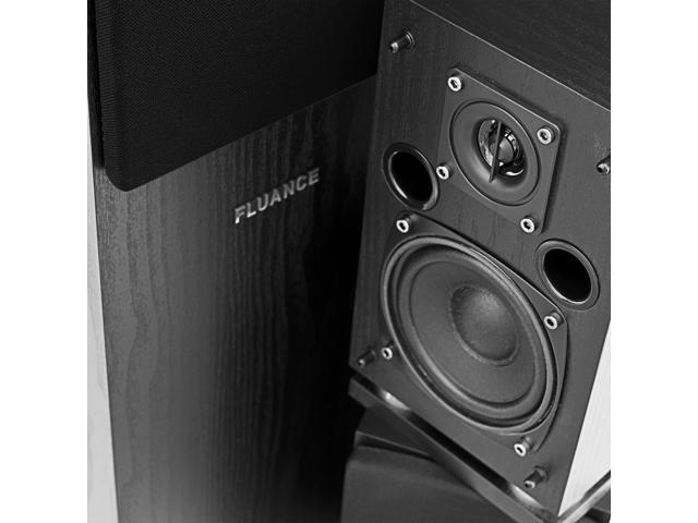 Fluance Classic Elite Series High Definition Surround Sound Home Theater 5.1 Channel Speaker System w/ Powered Subwoofer