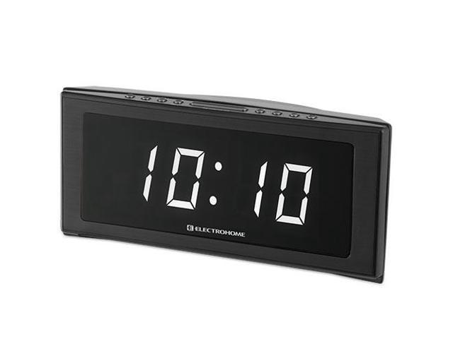 electrohome 1 8 jumbo led alarm clock radio with battery. Black Bedroom Furniture Sets. Home Design Ideas