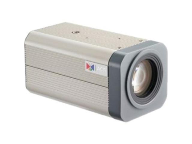 ACTi KCM-5211 RJ45 4M Box Camera with D/N, SLLS, 18x Zoom lens