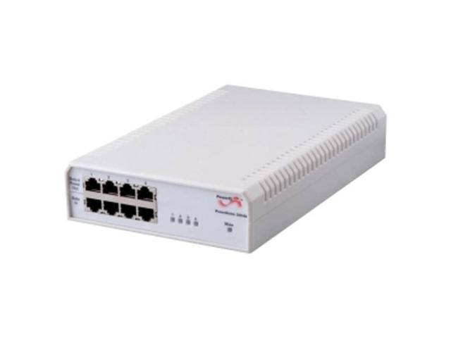 Microsemi 4-Port PoE Midspan, 10/100/1000BaseT, AC Input - 240 V AC Input - 55 V DC Output - 15.40 W
