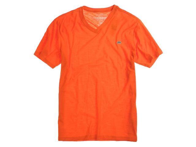 Ecko Unltd. Mens Co Cal Better Rhino Patch Graphic T-Shirt carotene XL