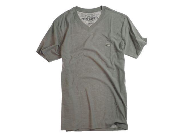 Ecko Unltd. Mens So Cal Better Rhino Patch Graphic T-Shirt ltgrydst S