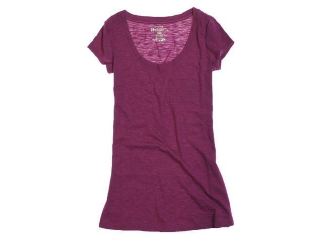 Ecko Unltd. Womens Ss Solid Scpnk Graphic T-Shirt raspbrry M