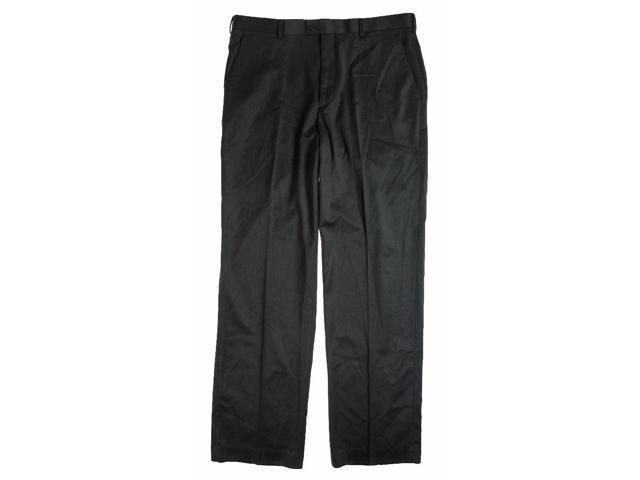 Perry Ellis Mens Portfolio Wool Dynamics Dress Slacks grey 38x32