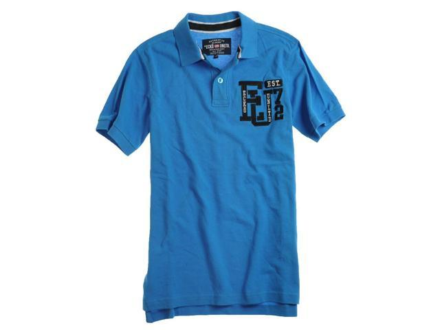 Ecko Unltd. Mens Left Chest Eu 72 Rugby Polo Shirt brightblue XS