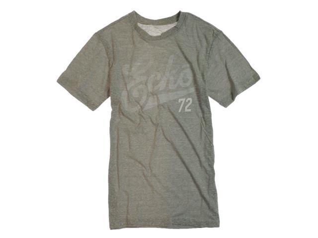 Ecko Unltd. Mens Scripted Graphic T-Shirt gray XS