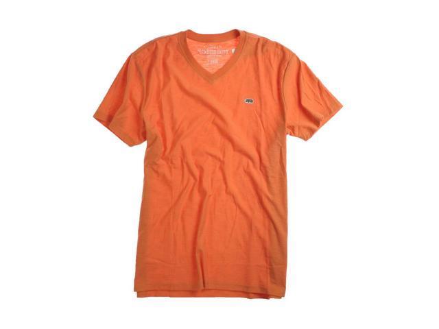 Ecko Unltd. Mens Co Cal Better Rhino Patch Graphic T-Shirt orangepeel XL