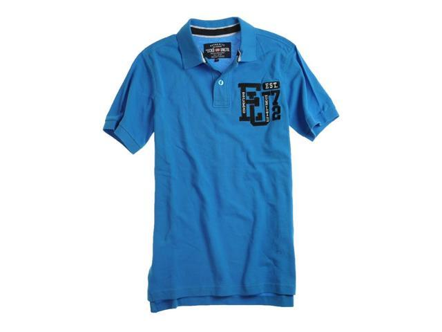 Ecko Unltd. Mens Left Chest Eu 72 Rugby Polo Shirt brightblue L