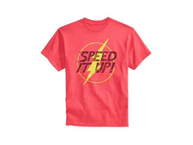 Bioworld Boys Speed It Up Graphic T-Shirt red 7