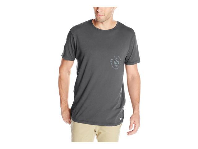 Quiksilver Mens Garment Dyed Unident Graphic T-Shirt kta0 M