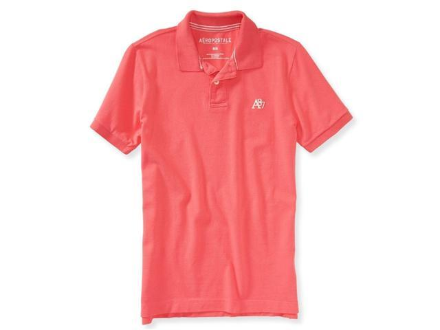 Aeropostale Mens A87 Uniform Rugby Polo Shirt 679 XL