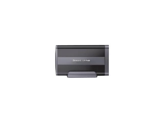 """Mediasonic HD3-SU2FW-BK Aluminum 2.5"""" Black USB2.0 & 1394a External Enclosure"""