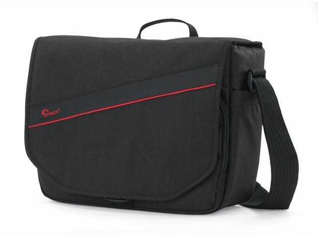 Lowepro Event Messenger 250 DSLR Camera Case Bag Fits 13 inch Laptop Black NEW