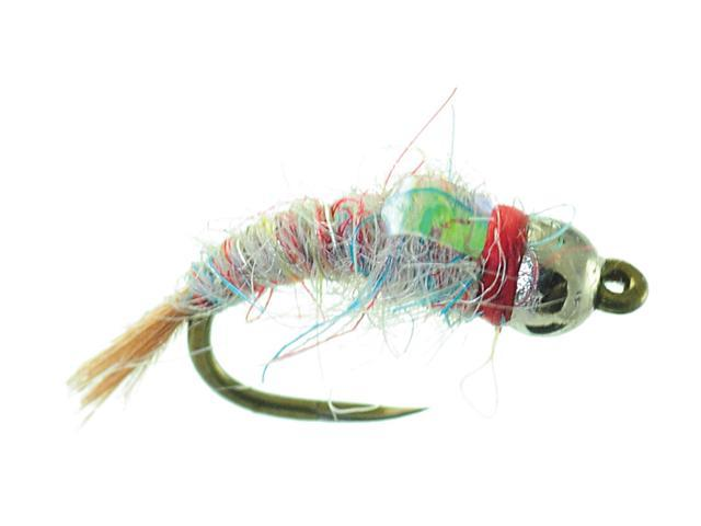 Umpqua Tungsten Surveyor Rainbow Fly Fishing Size 16 - 2 Pack