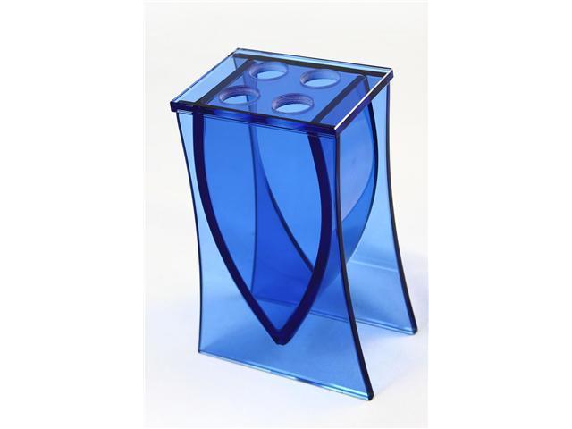LIANG THING, Ocean Blue Glass Toothbrush Holder / Bath / Bath Set / Bathroom Accessories