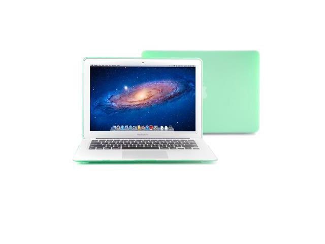 GMYLE Aqua Green Rubberized Coating See-through Hard Shell Case Cover Perfect fit for 11 inch Macbook Air