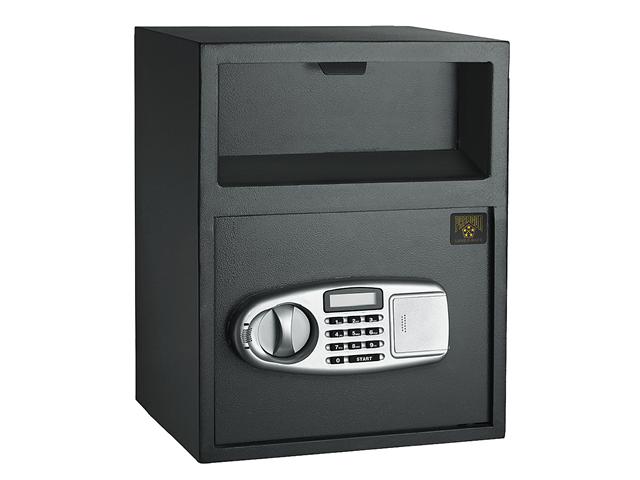 Paragon Lock & Safe Digital Depository Front Load Cash Vault Drop Safe Box