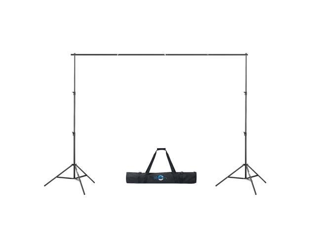 Shutter Starz Premium Photo Backdrop Stand For Muslin & Scenic Backgrounds