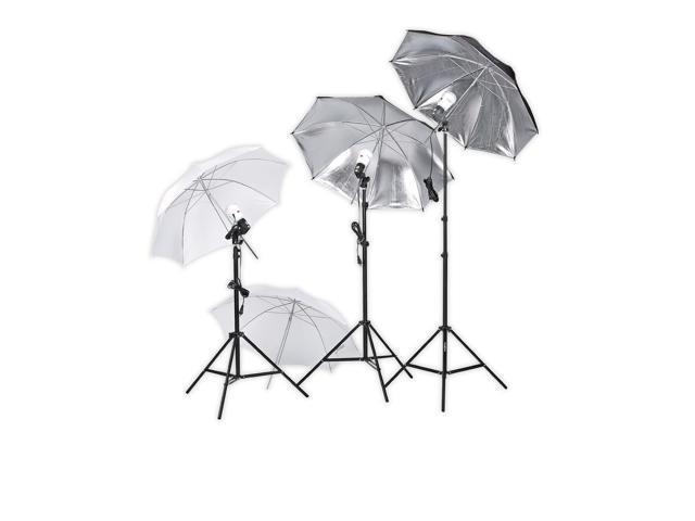 Square Perfect Professional Photography Studio Lighting Umbrella Soft Light Kit