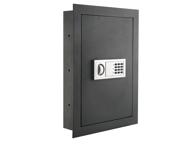 Flat Electronic Wall Safe For Jewelry Security .83 CF - Paragon Lock & Safe