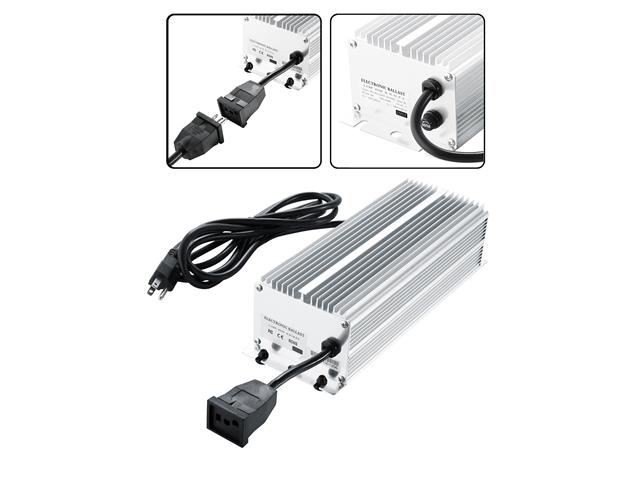 Earth Worth 400W Electronic Digital Ballast For HPS or MH 400 Watt Grow Bulbs