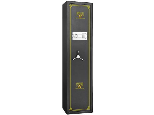 Electronic 5 Gun Rifle Safe Gun Cabinet Secure Lock Firearms-Paragon Lock & Safe