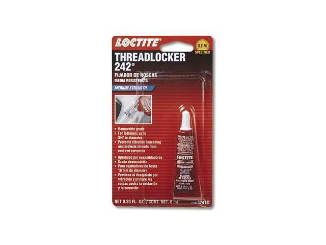 Loctite 37418 Threadlocker 242 - Medium Strength