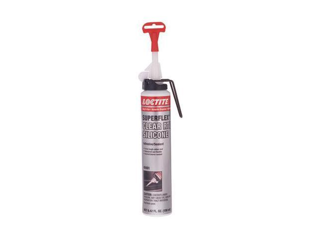190Ml Rtv Clear Aerosoladhesive