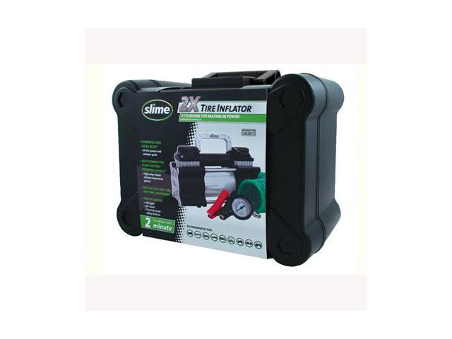 Slime 40026 2X Heavy Duty Tire Inflator