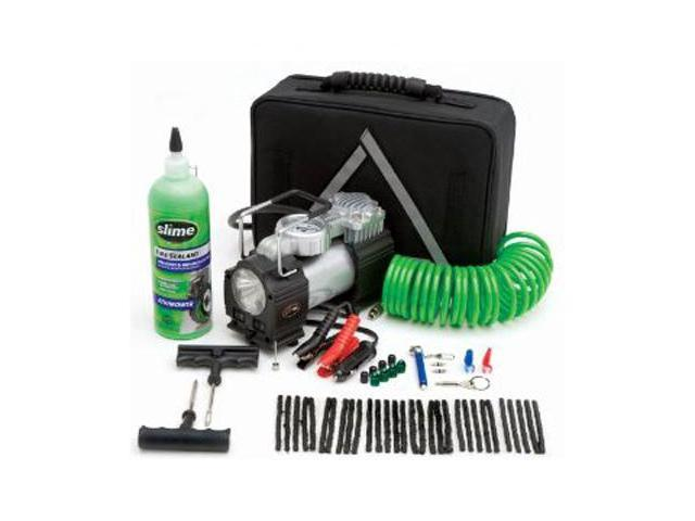 Slime 70004 Power Spair Flat Tire Repair Kit