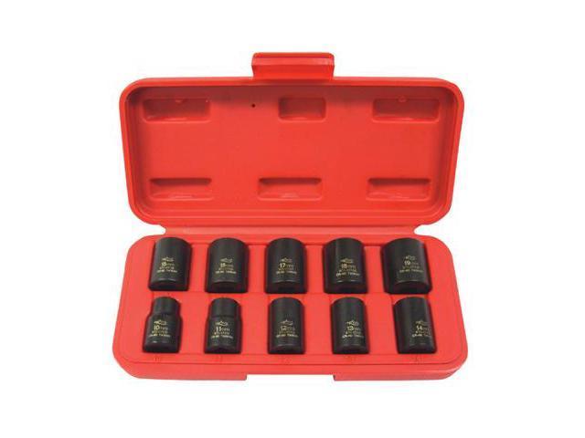K Tool 37100 Impact Socket Set, 3/8