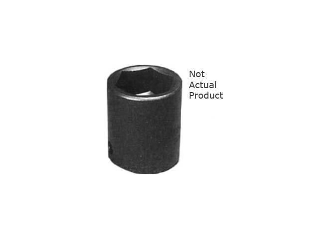 "K Tool 33114 Impact Socket, 1/2"" Drive, 7/16"", 6 Point, Shallow"