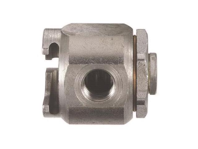 Lincoln Lubrication 80933 Grease Coupler Buttonhead 7/8 Diameter 7/16-27F Thread