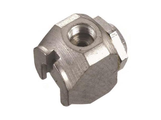 Lincoln Lubrication 81458 Grease Coupler Buttonhead 5/8 Diameter 7/16-27F Thread