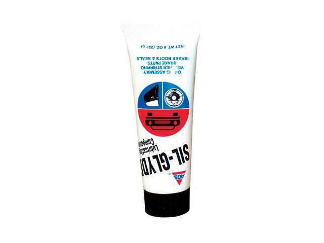 American Grease Stick SG-8 Sil Glyde Compound, 8 Ounce Tube Case of 12
