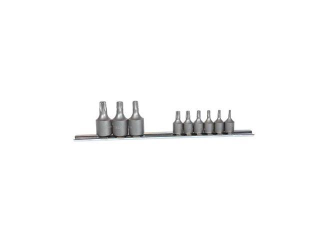 K Tool 22800 Socket Set, 9 Piece, 1/4