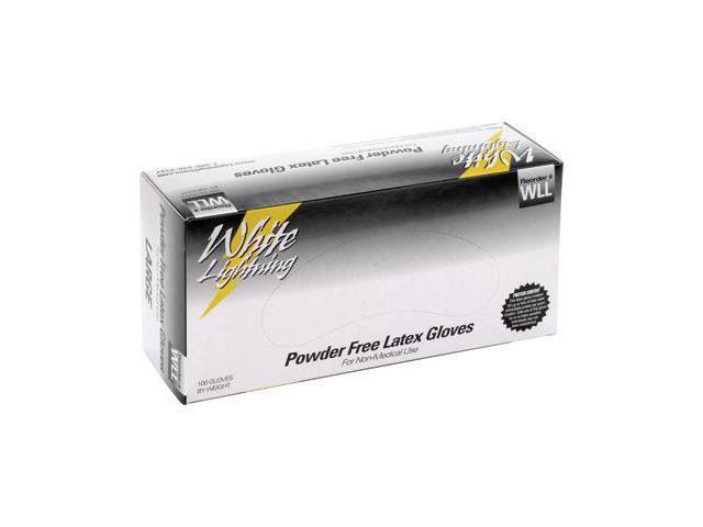 White Lightning WL-XL Latex Gloves X-Large