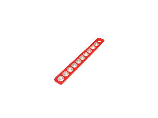 Mag-Clip 72403 Original Mag-Clip Socket Holder Strip Red 1/2