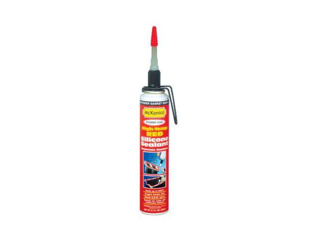 McKanica 0298 Silicone Sealant Red High Temperature Aerosol Power Can