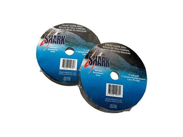 "Shark 12925 Emery Clth Roll 120 Grit 1"" X 10 yards"
